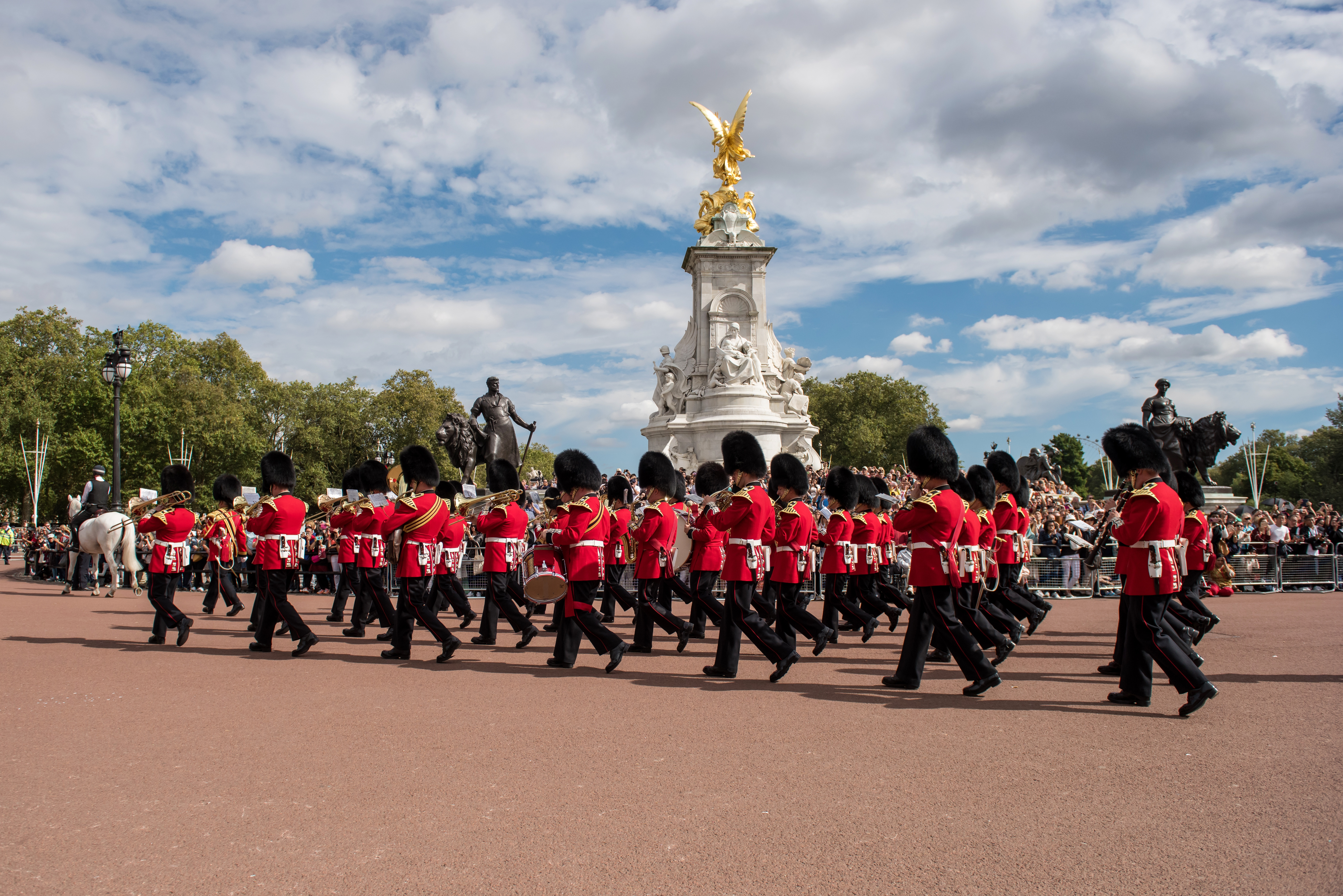 changing of the guards