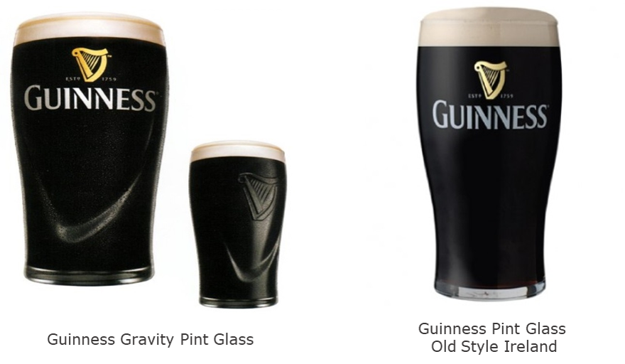 Guinness glasses